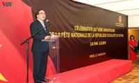 Die vietnamesische Botschaft in Frankreich begeht den 74. Nationalfeiertag