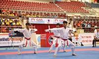 Fast 300 Kämpfer nehmen an der 29. Karate-Nationalmeisterschaft teil