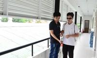Projekt zur Unterstützung der vietnamesischen sehbehinderten Menschen im Jahr 2019