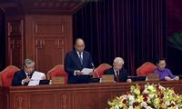 Erster Arbeitstag der 11. Konferenz des Zentralkomitees