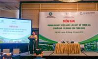Die vietnamesischen landwirtschaftlichen Produkte beteiligen sich an der globalen Wertkette