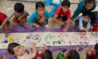 """Gemäldeausstellung zum 6. Jahrestag des Projektes """"Mountain Star Charity"""""""
