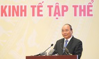 Premierminister Nguyen Xuan Phuc leitet Bilanzkonferenz der 15-jährigen Entwicklung der Kollektivwirtschaft
