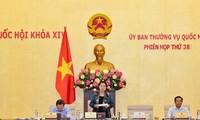 Parlamentspräsidentin Nguyen Thi Kim Ngan: Bereit für die bevorstehende Parlamentssitzung