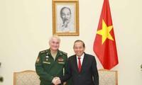 Verstärkung der Zusammenarbeit im Verteidigungsbereich zwischen Vietnam und Russland