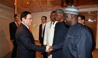 Vize-Premierminister Vuong Dinh Hue empfängt Vertreter des Nigeria-Vietnam-Unternehmensverbandes