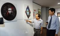 Bildende Kunstaustausch der Ausländergemeinschaft in Da Nang