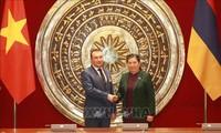 Verstärkung der Zusammenarbeit zwischen Vietnam und Armenien