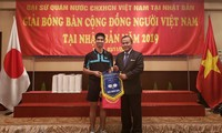Das erste Tischtennis-Turnier der vietnamesischen Gemeinschaft in Japan