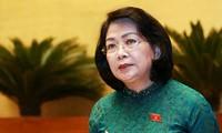 Vize-Staatspräsidentin Dang Thi Ngoc Thinh: Verbesserung der Landesgrenze zwischen Vietnam und Kambodscha