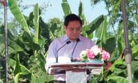 Leiter der Partei und des Staates nehmen am Tag der nationalen Solidarität in der Provinz Bac Lieu teil