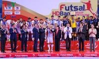 Eröffnung des nationalen Futsal-Turniers 2019