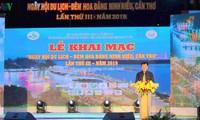 Tourismusfestival in der südvietnamesischen Stadt Can Tho