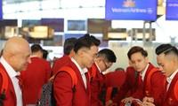 Die vietnamesische Sportdelegation ist für SEA Games auf den Philippinen eingetroffen