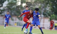 SEA Games 2019: Fußballnationalmannschaft der Frauen Vietnams und Thailands trennten sich (1:1) unentschieden