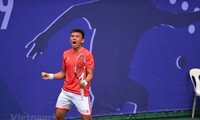 Südostasien-Spiele: Zwei Vietnamesen spiele um die historische Goldmedaille im Tennis