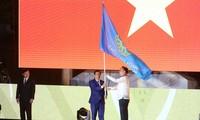 Vietnam erhält von den Philippinen Gastgeberfahne der 31. Südostasien-Spiele