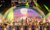 Eröffnung des 4. Reis-Festivals in Vinh Long 2019