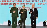 Feier in China zum Gründungstag der vietnamesischen Volksarmee