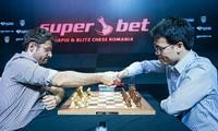 Schachspieler Quang Liem nimmt an der Schnell- und Blitzschach-Weltmeisterschaft teil