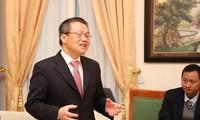 Zeremonie zur Gründung des Vietnam-Deutschland-Innovationsnetzwerks in Berlin