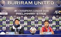 Fußballklub Ho-Chi-Minh-Stadt trifft Buriram United aus Thailand in der Qualifikationsrunde von AFC Champions League