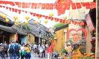 Kulturveranstaltungen zum traditionellen Neujahrsfest Tet in der Altstadt Hoi An