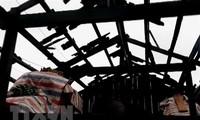 Das vietnamesische Rote Kreuz leistet Nothilfe für die von Hagel und Gewittern betroffenden Provinzen