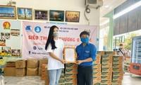 Schönheitskönigin Kim Duyen engagiert sich für karitative Aktivitäten