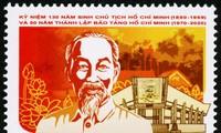Veröffentlichung der Sonderbriefmarkensammlung zum 130. Geburtstag des Präsidenten Ho Chi Minh