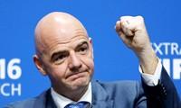 FIFA-Vorsitzender lobt den vietnamesischen Fußball