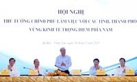 Erörterung von Maßnahmen für die wirtschaftliche Erholung in den südvietnamesischen Provinzen