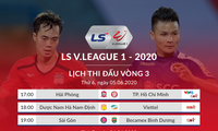 3. Runde von V. League 2020: Rennen zwischen den Spitzenteams