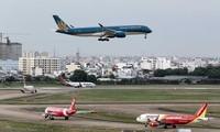 Die internationalen Handelsflüge schrittweise wiedereröffnet
