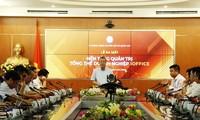 Das Ministerium für Information und Kommunikation präsentiert Unternehmensmanagementsplattform