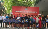 VOV eröffnet Tischtennis-Turnier zum 95. Jahrestag der revolutionären Presse