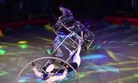 Zirkusprogramm zum Tag der Kriegsinvaliden und gefallenen Soldaten