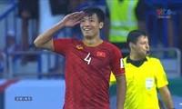 Mittelfeldspieler Bui Tien Dung setzt sich für die Covid-19-Bekämpfung ein