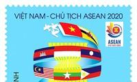 """Ausgabe der Briefmarkensammlung """"Vietnam begrüßt das ASEAN-Jahr 2020"""""""