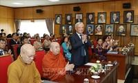 Vietnams Friendeskomitee der Amtszeit 2020-2025: sich aktiv für die multilaterale Volksdiplomatie einsetzen