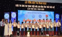 Preisverleihung des Kreativwettbewerbs für Jugendliche in Thua Thien-Hue