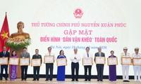 Auszeichnung von mehr als 200 hervorragenden Personen in der Öffentlichkeitsarbeit
