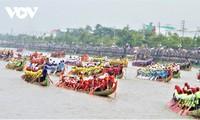 48 Teams beteiligen sich am Ngo-Bootsrennen in Soc Trang 2020