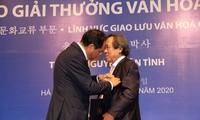 Erster Vietnamese, der den südkoreanischen Kulturpreis Sejong erhält