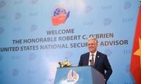 Die USA wollen die umfassende Partnerschaft mit Vietnam stabil und nachhaltig fördern