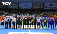 Eröffnung des Turniers Futsal HDBank Cup 2020