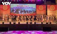 15. Jahrestag der Krönung des Gong-Kulturraums im Hochland Tay Nguyen zum immateriellen Kulturerbe der Menschheit