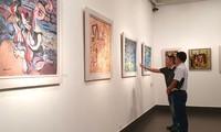 """Eröffnung der Ausstellung """"Gemälde des Mädchens Kieu"""""""