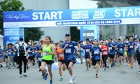 Internationaler Erbe-Marathonlauf Ha Long-Bucht