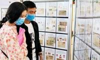 Ausstellung von Briefmarken in Südvietnam 2020